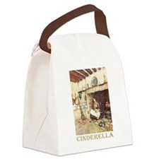 CINDERELLA2_GOLD.png Canvas Lunch Bag