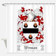 Wyman Shower Curtain
