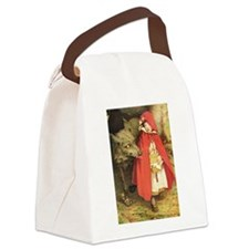 Little Red Riding Hood.png Canvas Lunch Bag