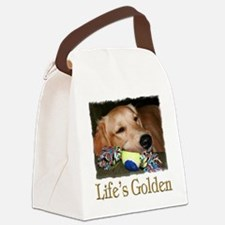Lifes Golden Canvas Lunch Bag