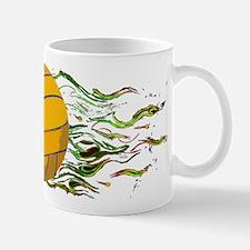 Flaming Waterpolo Ball US Olympics Swimming Fish M