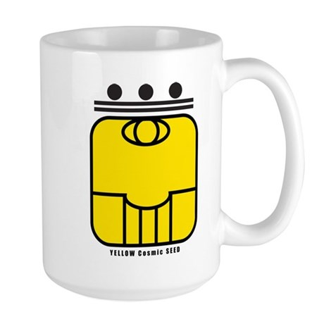 YELLOW Cosmic SEED Large Mug