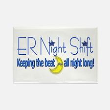 ER Night Shift Rectangle Magnet