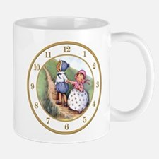 JACK AND JILL CLOCK.png Mug