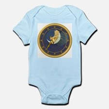! ONCE IN A BLUE MOON CLOCKx.png Infant Bodysuit