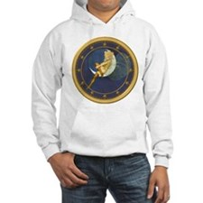 ! ONCE IN A BLUE MOON CLOCKx.png Jumper Hoodie