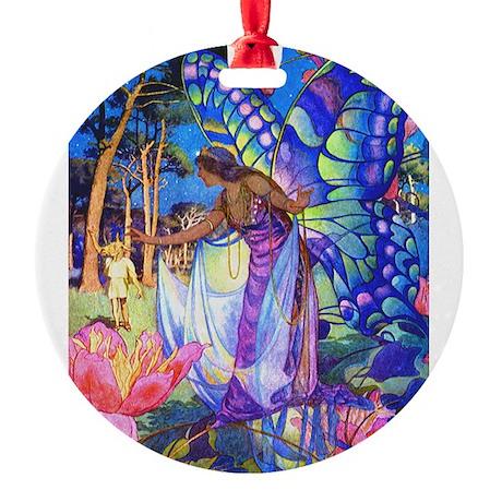 10x14_Midsummer nights dream.png Round Ornament