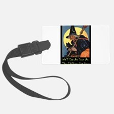 2-WITCH - WELL EAT 10x14.png Luggage Tag