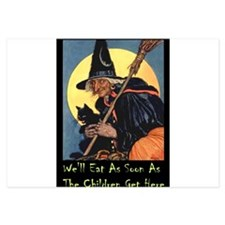2-WITCH - WELL EAT 10x14.png 3.5 x 5 Flat Cards