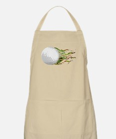 Flaming Golf Ball Club PGA Masters Apron