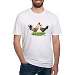 Norwegian Jaerhons Chickens Fitted T-Shirt
