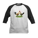 Norwegian Jaerhons Chickens Kids Baseball Jersey