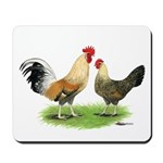 Norwegian Jaerhons Chickens Mousepad