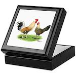 Norwegian Jaerhons Chickens Keepsake Box