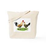 Norwegian Jaerhons Chickens Tote Bag