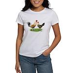 Norwegian Jaerhons Chickens Women's T-Shirt
