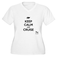 Keep Calm and Cruise Plus Size T-Shirt