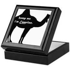 Hump Me, I'm Egyptian Keepsake Box
