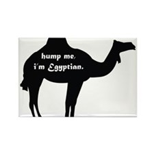 Hump Me, I'm Egyptian Rectangle Magnet