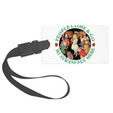 ALICE_people come and go_green copy.png Luggage Tag