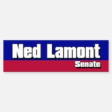 NED LAMONT SENATE 2006 Bumper Bumper Bumper Sticker