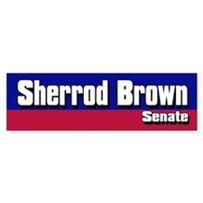 SHERROD BROWN SENATE 2006 Bumper Bumper Sticker