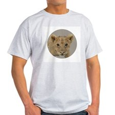 lion cub Ash Grey T-Shirt
