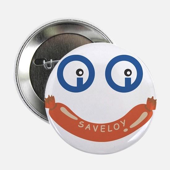 """Oi Oi Saveloy ! 2.25"""" Button"""