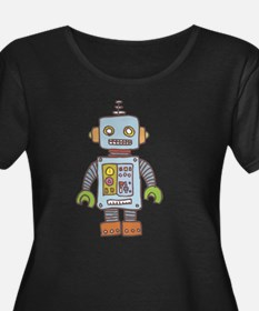 robot1 Plus Size T-Shirt