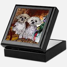 Shih Tzu Christmas MuggsMattie Keepsake Box