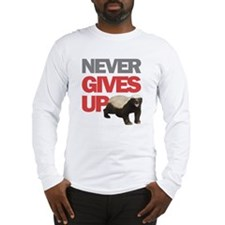 Honey Badger Don't Care Long Sleeve T-Shirt