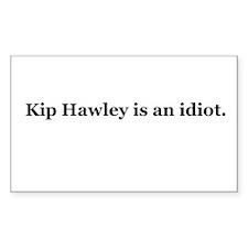 Kip Hawley Rectangle Decal