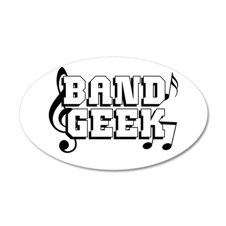 Band Geek Wall Decal by shakeoutfittersmusic