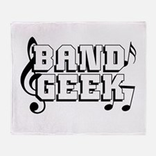 Band Geek Throw Blanket