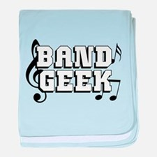 Band Geek baby blanket