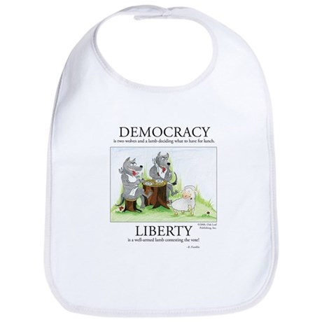 Democracy & Liberty Bib