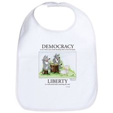 Democracy & Liberty Bib