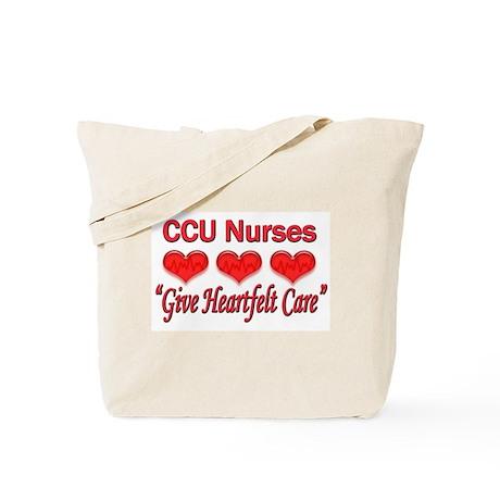 CCU Nurses - Heartfelt Care Tote Bag