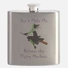 Don't Make Me Release The Flying Monkeys Flask