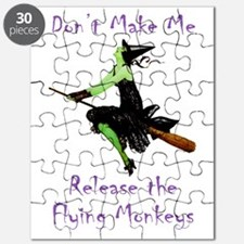 Don't Make Me Release The Flying Monkeys Puzzle