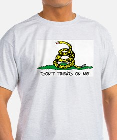 Don't Tread On Me Ash Grey T-Shirt