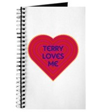 Terry Loves Me Journal