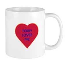 Terry Loves Me Small Mugs