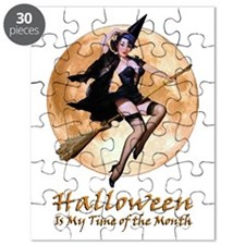 Halloween is My Time of the Month Puzzle