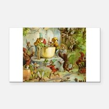 book of gnomes007_SQ3.png Rectangle Car Magnet