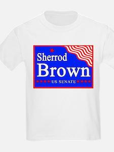 Ohio Sherrod Brown US Senate Kids T-Shirt