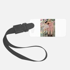 A Childs Book Of Old Verses003.jpg Luggage Tag