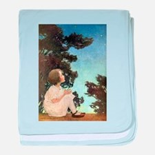 A Childs Book Of Old Verses011.jpg baby blanket