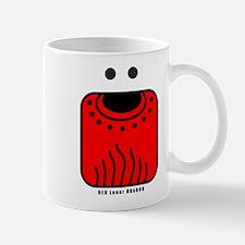 RED Lunar DRAGON Mug
