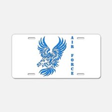 US Air Force Tribal Eagle Aluminum License Plate